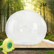 Inflatable Commercial Grade One Room Pvc Clear Eco Dome Camping Bubble Tent Us