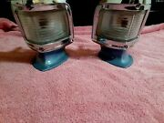 1968 Chevy Impala Caprice Conv Front Corner Running Lamps Color Ghrotto Blue