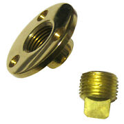 0714dp1plb Perko Garboard Drain And Drain Plug Assy Cast Bronze/brass Made In T...