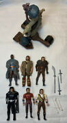 Vintage Action Figures Robin Hood Thieves Bola Bomber Kenner 1991 Lot