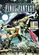 Dvd Anime The Great Collection Of Final Fantasy + Ova + Movie Reg All + Free Dvd