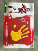 2017 Patrick Mahomes Impressions Rc Auto And Hand Print 9/10 11x17in🔥 Very Rare