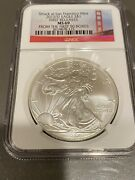 2012-s Silver Eagle 1 Ngc Ms 69 Struck At Sf Mint From The First 50 Boxes