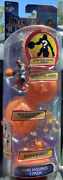 Space Jam New Legacy 4 Pack 2 Lebron James Bugs Wile E Coyote + Mystery Figure