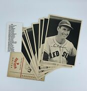 1948 Boston Red Sox Team Picture Pack Photo Set 25/25 Ted Williams W/ Envelope