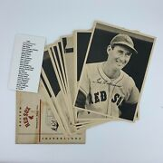 1950 Boston Red Sox Team Picture Pack Photo Set 25/25 Ted Williams W/ Envelope