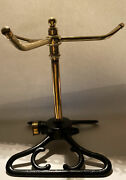 Vintage Lawn Sprinkler Art Deco Tall Brass Spinner Madi In Usa One Of A Kind
