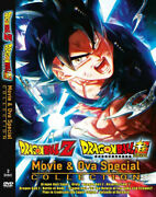 Dvd Anime Dragon Ball Z And Super Movie And Ova Collection English Dub + Free Dvd