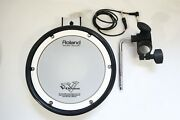 Roland Pdx-8 Dual Trigger Mesh Head V-drum Pad W Rack Mount, L Rod, Cable,tested