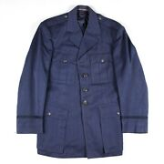 1950s Us Air Force Usaf Blue Shade 84 Officer Dress Jacket Coat Early Pilot