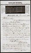 1886 Edward Sutton Wire Fencing And Gates Philadelphia Letter Head Rare History