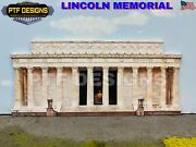 G Scale - Lincoln Memorial - Flat Structure Background Wall Decoration