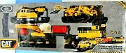 Caterpillar Motorized Construction Express Train 2014 Toy State Cat 995676