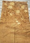 19th Century Antique Chinese Tapestry Kesi 67 X 45 Floral Motif