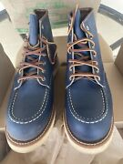 Red Wing Heritage 8882 Indigo Blue Barely Worn W Box Extremely Rare Boot 10d