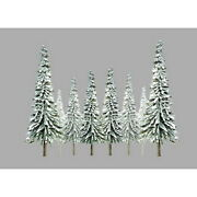 Jtt Scenery Products 92005 Z 1-2 Super Scenic Snow Pine Tree Pack Of 55