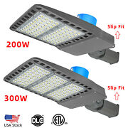 200w Led Parking Lot Light 300w - Commercial Led Area Lighting,dusk To Dawn