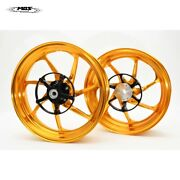 Mos Forged Aluminum Alloy Wheels Rims For Yamaha Xmax 250 300 Xf07 Gold