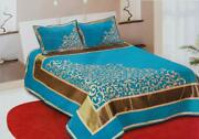 New Bedding Set Double Bedsheet With 2 Pillow Cover King Size Chenille 500 Tc