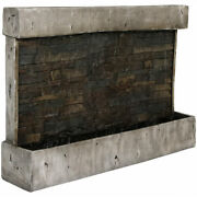 Sunnydaze Ancient Waterfall Wall Outdoor Water Fountain 24 Water Feature