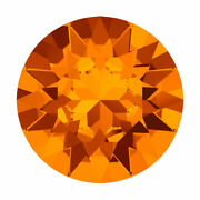 Crystal 1088 Xirius Round Stone Chatons Ss29 12 Pieces Tangerine F