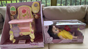 Disney Store Animators' Collection Belle Baby Doll And Matching Feeding High Chair