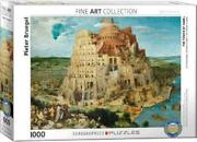 The Tower Of Babel 1000 Piece Puzzle By Pieter Bruegel Eurographics New