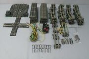 American Flyer S Assorted Switches Crossovers And Track Pieces [15+]