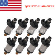 Set Of 8 New Fuel Injector 18715t1 For 1998-2005 Mercury Outboard 150 Thru 300hp