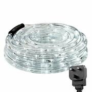 Outdoor Rope Lights Mains Powered Linkable Low Voltage 10m 240 Led
