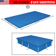 Bestway 10ft6ft.9in Pe Pool Cover For Rectangular Above Ground Pools 58106