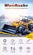 Remote Control 2wd Wheel Loader Off Road Rc 114 Kids Gift Toy Bulldozer Rtr