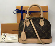Louis Vuitton Monogram Alma Bb Crossbody Bag Sold-out Authentic Must Have ❤️