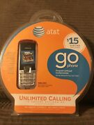 Att Nokia 2610 Gophone Prepaid Cell Phone New In Box 15 Airtime Included