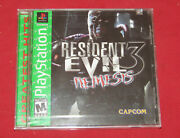 New Resident Evil 3 Ps1 Playstation 1 Sealed Greatest Green Label Rare