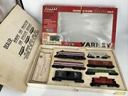 Ho Scale 187 Vintage Varney Acl A And B Locomotives, Caboose And 4 Cars Pre-owned