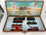 Ho Scale 187 Vintage Louis Marx And Co Steam Loco And 5 Cars Made In Usa Used