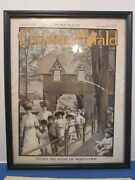 July 6, 1910 Christian Herald Newspaper Within The Gates Of Mont-lawn - Framed