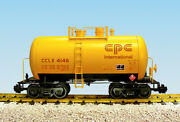 Usa Trains R15213 G Cpc International Chemicals Beer Can Tank Car Yellow