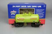 Usa Trains R15211 Celanese Chemicals Beer Can Tank Car 6220 - Metal Wheels