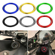 Ignition Key Hole Cover Circle Ring Guard For Kawasaki Z900 Z900rs Throttle