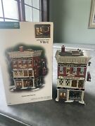 Department 56 Hammersteinand039s Piano Co. Christmas In The City 799941 Retired Rare