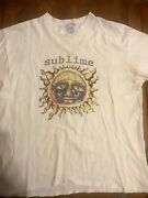 Vintage 1990's Sublime Band Music T-shirt Long Beach California Skunk Records Xl