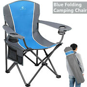 Portable Folding Camping Chair Heavy Duty Outdoor Fishing Picnic Chairs 350lbs
