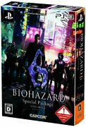 Ps3 Biohazard 6 Special Package Resident Evil Japanese Ver. W/tracking New