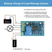 10-60v Battery Over-discharge Under Voltage Disconnect Protection Module Control