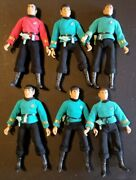 Vintage Mego 8 Type-i T1 Painted Lips 1st Release Scotty⭐mccoy⭐spock Lot Of 6