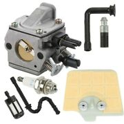 For Stihl Carburetor Kit 034 036 Ms340 Ms360 Parts Air Filter Fuel Line Chainsaw