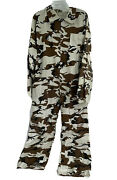 Unbranded Hunting Coveralls Snow Camouflage White Camo Winter Menand039s Large