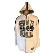 Ecko Unlimited Zip Up Hoodie Menandrsquos 2xl White Embroidered